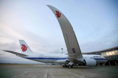 国航引进内地首架空客A350客机