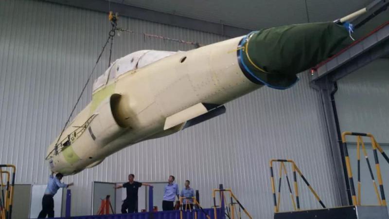 首架FTC2000G战机九月总装