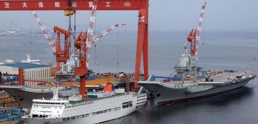 距首次海试满三个月 国产航母舾装近尾声或将二次海试