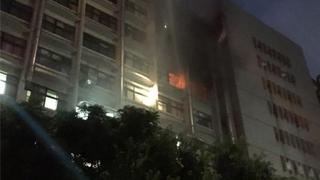 延误报警 新北市台北医院恶火致9死16伤