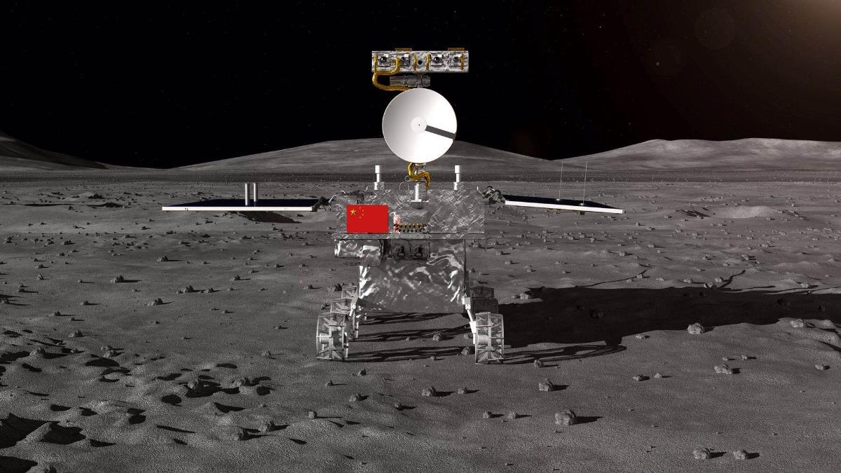 嫦娥四号 月球车公布 将实现人类探测器在月球背面软着陆