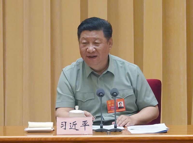 习近平:坚持党对军队绝对领导