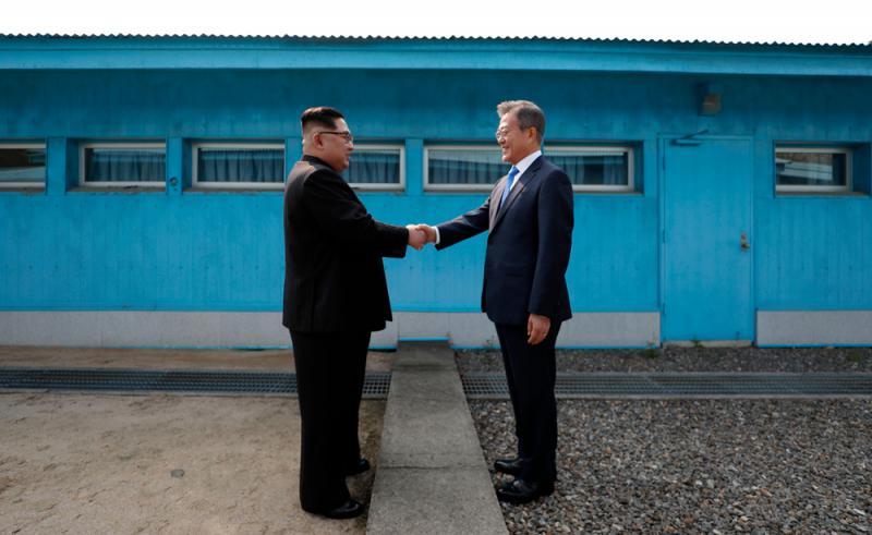 朝鲜和�yf�_韩国政府将删除《2018国防白皮书》中的\