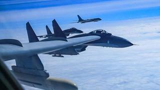 """韩媒:中国军机进韩""""防空识别区"""" 韩出动战机应对"""