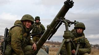 俄军特战队配备微声迫击炮 噪音水平与消音AK47相当