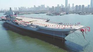 美媒:中国开始设计10万吨级航母 可搭载隐身舰载机