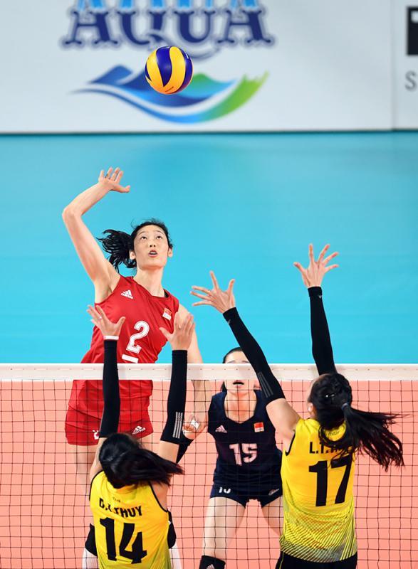 中国女排世锦赛名单出炉