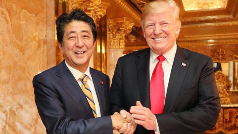 安倍联大前晤特朗普 双方就朝鲜半岛无核化合作达成一致