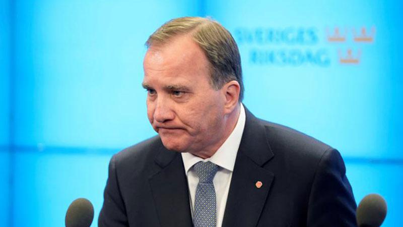 """超半数议员投反对票 瑞典首相因""""不信任投票""""遭罢免"""