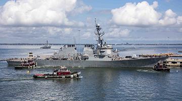 """美国海军开始进入""""重归制海权""""的战略转型"""