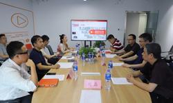 中国残疾人事业新闻宣传促进会与斗鱼公司就开展公益宣传合作进行交流