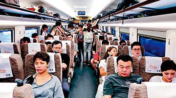 700万内地游客国庆出境度假 高铁游香港受热捧