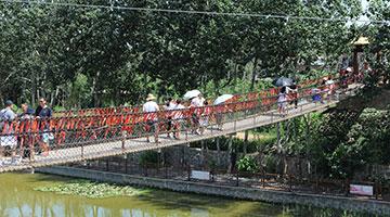 国庆黄金周第一天:河北乡村游吸引京津客