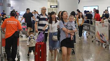 國慶黃金周首日 京港高鐵票售空
