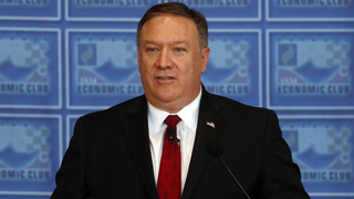 外交部:美国国务卿蓬佩奥将访华