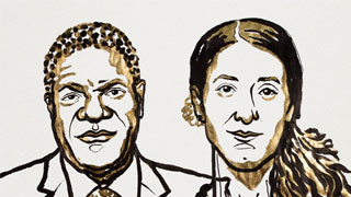 诺贝尔和平奖授予刚果医生和伊拉克少女 两人反战争性暴力