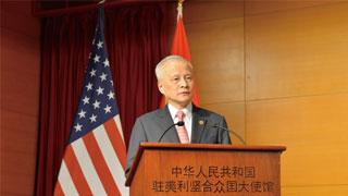 驻美大使谈贸易战:希望中美通过谈判协商解决问题