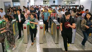 高鐵西九龍站昨日客量近8萬人次 創通車以來新高