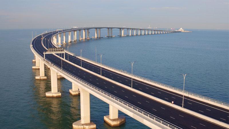 港珠澳大桥联合试运达预期效果 三地政府为开通做准备
