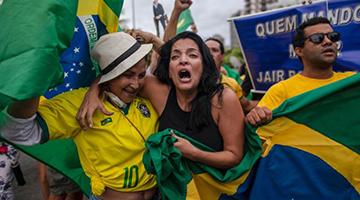 左右翼33年再对擂极右崛起 巴西大选月底再战