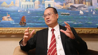 香港中总会长蔡冠深忆改革开放历程:从木船到高铁