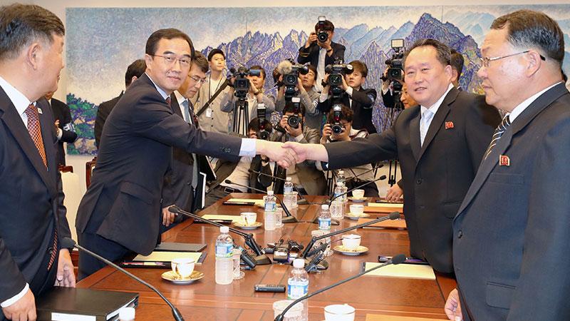 韩朝今将举行高级别会谈讨论落实《平壤宣言》
