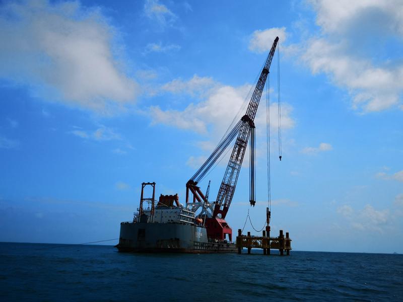 40万千瓦风电项目阳江开工