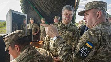 乌克兰总统晒与北约军演 还在社交媒体上叫板普京