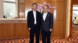 王志民会见广州市委书记张硕辅一行