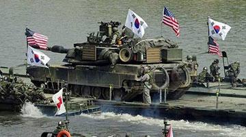 美宣布暂停韩美