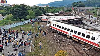 台当局公布列车出轨事故原因:初判因转弯时超速