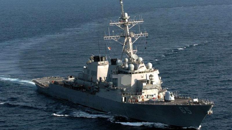 又挑衅!两艘美国军舰航经台湾海峡