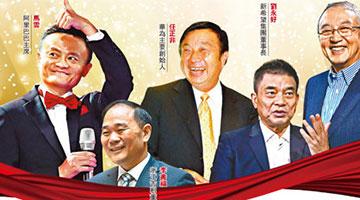 改革开放民企百帅榜出炉 囊括40年来6类杰出企业家