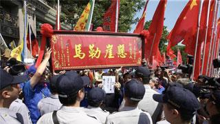 ?美舰过台海徒具象征性 学者:中国对台湾问题要有红线