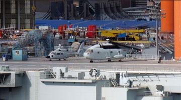 国产航母或将迎来第三次海试