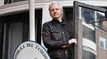 結束6年躲藏 維基解密創始人稱將被移交美國