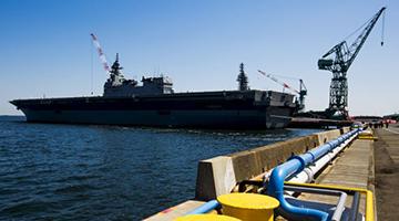 日本当局热议出云号改航母 若可行将能攻击敌方基地