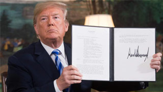 华府将对伊朗启新制裁 美欧关系再临考验