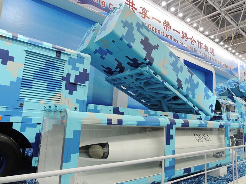 """力压国外现役反舰导弹 新一代国产""""航母杀手""""亮相珠海"""