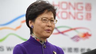 林鄭:冀香港與內地在大灣區合作中雙贏