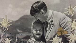 希特勒搂抱犹太女童照拍卖 9000美元成交