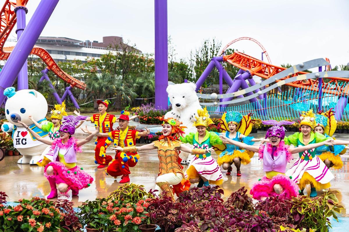 海昌落子长三角 海洋公园在沪正式开园