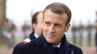 """马克龙指有大国试图""""将欧洲挤出游戏"""" 吁团结对抗"""