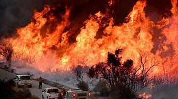 加州爆史上最大山火 英媒:世界最强大国家为何挡不住野火