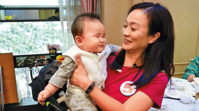 全力支持陈凯欣 投香港未来一票