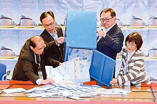 立法會九龍西補選結果揭曉 陳凱欣106457票當選