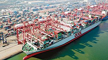 海关总署:前11个月外贸进出口超去年 同比增15%