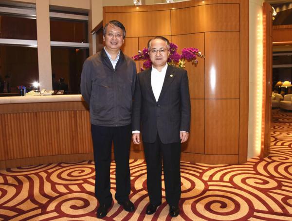 王志民会见全国人大常委会香港基本法委主任沈春耀