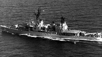 伊朗启用西亚最先进驱逐舰 或派往美后院执行任务