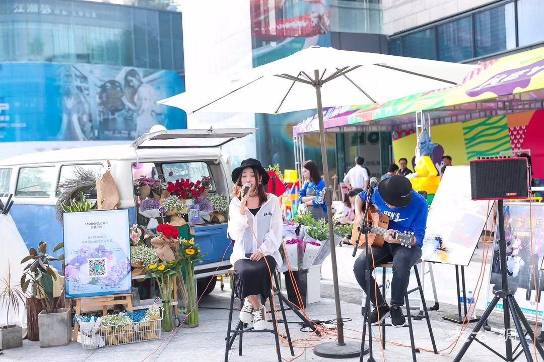 深圳欢乐海岸乐享生活季启幕 港人北上体验都市慢生活